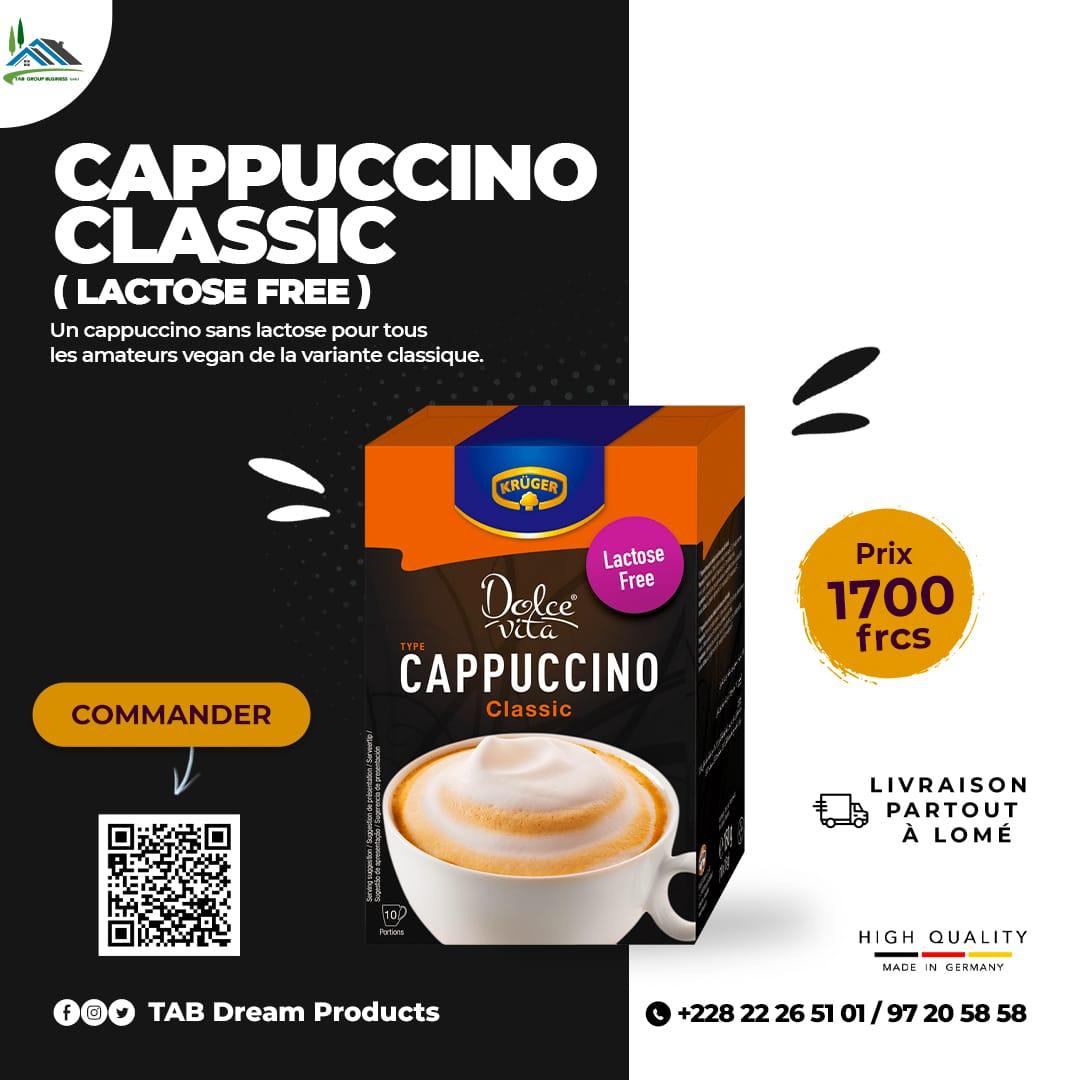 Cappuccino Classic Lactose Free