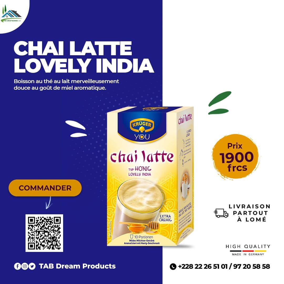 Chai Latte Lovely India