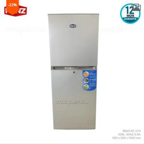 Réfrigerateur RENZ 206L (RZ-270)