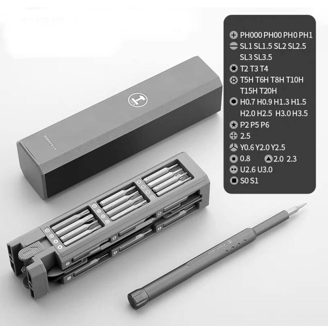 Kit de tournevis magnétique 46 en 1