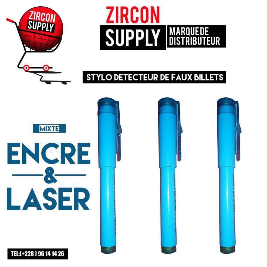 Testeur de billets stylo laser