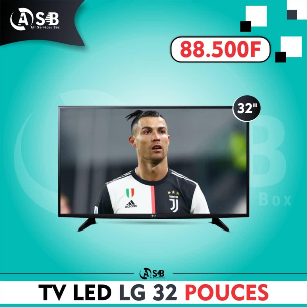 Télévision LED 32 POUCE